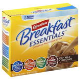 Carnation Breakfast Essentials Complete Nutritional Drink, Rich Milk Chocolate, 10 - 1.26 oz (36 g) packets [12.6 oz (360 g)] at mygofer.com