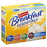 Carnation Breakfast Essentials Complete Nutritional Drink, Classic French Vanilla, 10 - 1.26 oz (36 g) packets [12.6 oz (360 g)] at mygofer.com