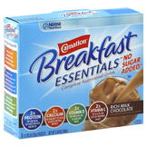 Carnation Instant Breakfast Essentials Complete Nutritional Drink, Rich Milk Chocolate, 8 - 0.705 oz (20 g) packets [5.64 oz (160 g)] at mygofer.com