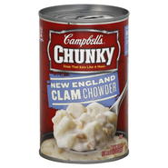 Campbell's Chunky Soup, New England Clam Chowder, 18.8 oz (1 lb 2.8 oz) 533 g at Kmart.com