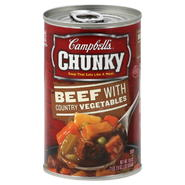 Campbell's Chunky Soup, Beef, with Country Vegetables, 18.8 oz (1 lb 2.8 oz) 533 g at Kmart.com