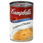 Campbell's Soup, Condensed, Cream of Chicken, 10.75 (305 g) at Kmart.com