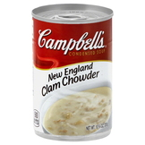 Campbell's Soup, Condensed, New England Clam Chowder, 10.75 oz (305 g) at mygofer.com
