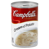 Campbell's Soup, Condensed, Cream of Potato, Less Sodium, 10.75 oz (305 g) at mygofer.com