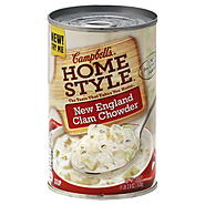 Campbell's Select Harvest Soup, New England Clam Chowder, 18.8 oz (1 lb 2.8 oz) 533 g at Kmart.com
