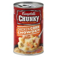 Campbell's Chunky Soup, Chicken Corn Chowder, 18.8 oz (1 lb 2.8 oz) 533 g at Kmart.com