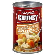 Campbell's Chunky Soup, Classic Chicken Noodle, 18.6 oz (1 lb 2.6 oz) 527 g at Kmart.com