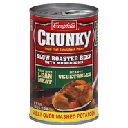Campbell's Chunky Soup, Slow Roasted Beef with Mushrooms, 18.8 oz (1 lb 2.8 oz) 533 g at Kmart.com
