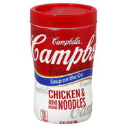 Campbell's Soup on the Go Soup, Chicken & Mini Round Noodles, 10.75 oz (305 g) at Kmart.com