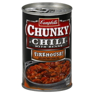 Campbell's Chunky Chili, with Beans, Firehouse, 19 oz (1 lb 3 oz) 539 g at Kmart.com