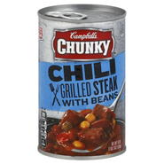 Campbell's Chili, Grilled Steak with Beans, 19 oz (539 g) at Kmart.com