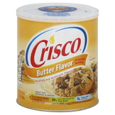 Crisco All-Vegetable Shortening, Butter Flavor, 48 oz (3 lb) 1.36 kg at mygofer.com