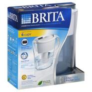 Brita Water Filtration System, Pitcher, 1 system at Kmart.com