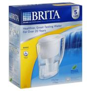 Brita Water Filtration System, Pitcher, Basic, 5 Cups, 1 system at Kmart.com