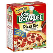 Chef Boyardee Pizza Kit, Pepperoni, Family Size, 31.85 oz (1 lb 15.85 oz) 902 g at Kmart.com
