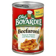 Chef Boyardee Beefaroni, 15 oz (425 g) at Kmart.com
