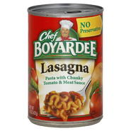 Chef Boyardee Lasagna, 15 oz (425 g) at Kmart.com