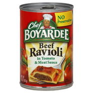Chef Boyardee Ravioli, Beef, 15 oz (425 g) at Kmart.com