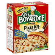 Chef Boyardee Pizza Kit, Cheese, Family Size, 31.85 oz (1 lb 15.85 oz) 902 g at Kmart.com