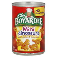 Chef Boyardee Mini Dinosaurs, 15 oz (425 g) at Kmart.com