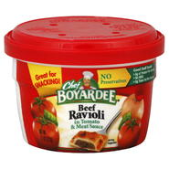 Chef Boyardee Beef Ravioli, in Tomato & Meat Sauce, 7.5 oz (212 g) at Kmart.com