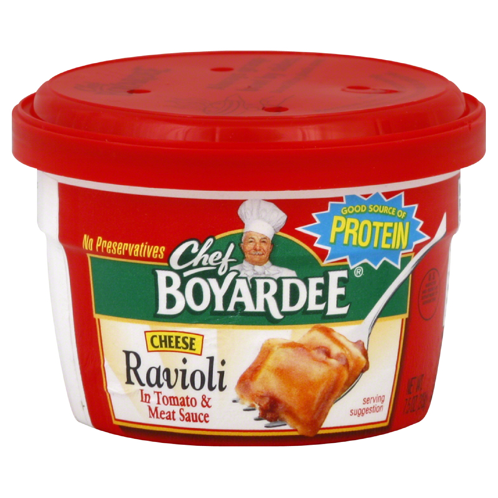 Delicious and convenient, Chef Boyardee Cheese Ravioli in Tomato Sauce has the real ingredients and rich flavor that you'll love. Chef Boyardee uses real cheese, enriched pasta, and a robust tomato sauce to give Cheese Ravioli in Tomato Sauce the classic taste that your family will .