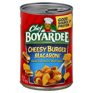 Chef Boyardee Cheesy Burger Macaroni, 15 oz (425 g) at Kmart.com