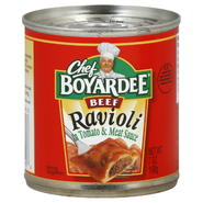 Chef Boyardee Ravioli, Beef, 7 oz (198 g) at Kmart.com