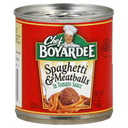 Chef Boyardee Spaghetti & Meatballs, 7 oz (198 g) at Kmart.com