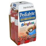 Pedialyte Singles Oral Electrolyte Maintenance Solution, Cherry, 4-8 fl oz (237 ml) bottles [1 qt (948 ml)] at mygofer.com