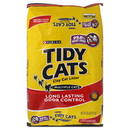 Tidy Cats Cat Litter, Clay, Long Lasting Odor Control Formula, 20 lb (9.07 kg) at Kmart.com