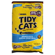 Tidy Cats Cat Litter, Clay, Immediate Odor Control Formula, 20 lb (9.07 kg) at Kmart.com
