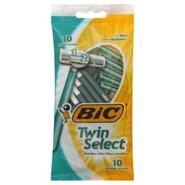 BIC Twin Select Shavers for Men, Sensitive Skin, 10 shavers at Kmart.com