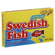 Swedish Fish Candy, Soft & Chewy, Aqua Life, 3.1 oz (87 g) at Kmart.com