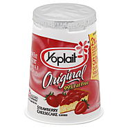 Yoplait Original Yogurt, Low Fat, Strawberry Cheesecake, 6 oz (170 g) at Kmart.com