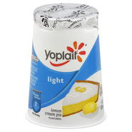 Yoplait Light Yogurt, Fat Free, Lemon Cream Pie Flavored, 6 oz (170 g) at Kmart.com