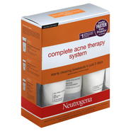 Neutrogena Acne Therapy System, Complete, 1 system at Kmart.com
