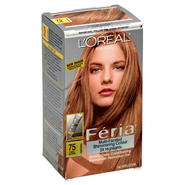 L'Oreal Feria Multi-Faceted Shimmering Colour 3X Highlights, Natural, Dark Blonde 75, 1 application at Kmart.com