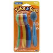 Learning Curve Take & Toss Infant Spoons, 4m+, 12 spoons at Kmart.com