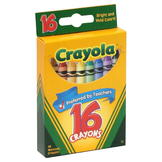 Crayola Crayons, 16 crayons at mygofer.com