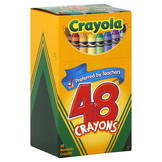 Crayola Crayons, 48 crayons at mygofer.com