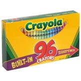 Crayola Crayons with Built-In Sharpener, 96 crayons at mygofer.com