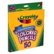 Crayola Colored Pencils, 50 pencils at Kmart.com