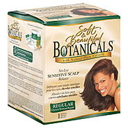Soft & Beautiful Botanicals Relaxer, No-Lye Sensitive Scalp, Regular, 1 application at Kmart.com