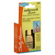 Sally Hansen Nail Growth Miracle Salon Strength Treatment, 0.45 fl oz (13.3 ml) at Sears.com