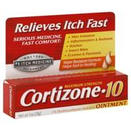 Cortizone-10 1% Hydrocortisone Anti-Itch Ointment, Maximum Strength, 1 oz (28 g) at Kmart.com