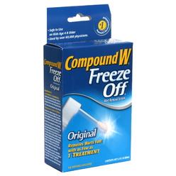 compound w freeze off instructions