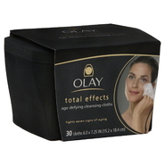 Olay Total Effects Age Defying Cleansing Cloths, 30 cloths at Kmart.com