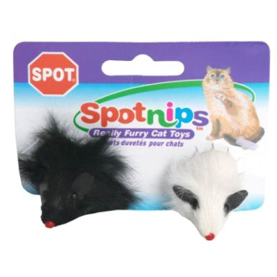 Spotnips Cat Toy, Mice, 2 each