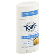 Tom's of Maine Deodorant, Aluminum-Free, Fresh Apricot, 2.25 oz (64 g) at Sears.com